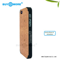 mobile phone covers or carving bamboo case with wood skin protector for iphone 5s