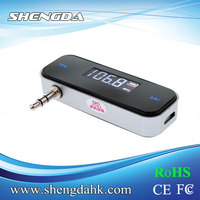 FI-318 low power fm transmitter FOR IPHONE 5 4S 4 3G IPOD SAMSUNG MP3