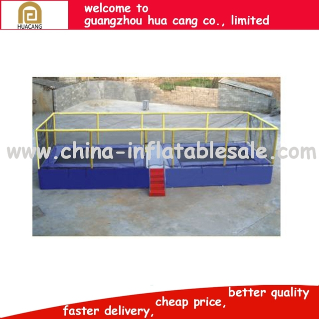 China Supplier cheap kids trampoline park with canopy for children
