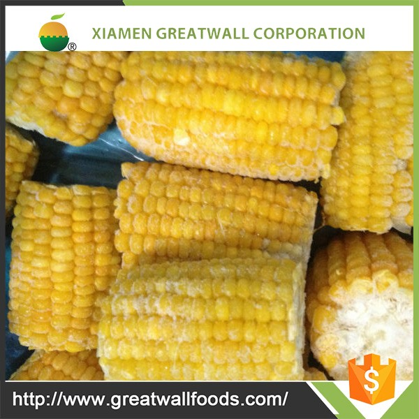 High quality frozen food supplier frozen sweet corn pieces