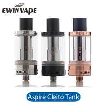 100% Genuine Vape Ecig Atomizer Aspire Cleito Tank from Authorized Supplier
