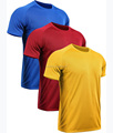 OEM Men's Dry Fit Mesh Sports T Shirts Short Sleeve T-Shirt Round neck T shirt Plain Tee