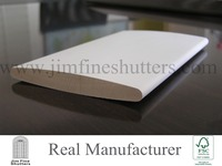 Interior Primed Shutter Components