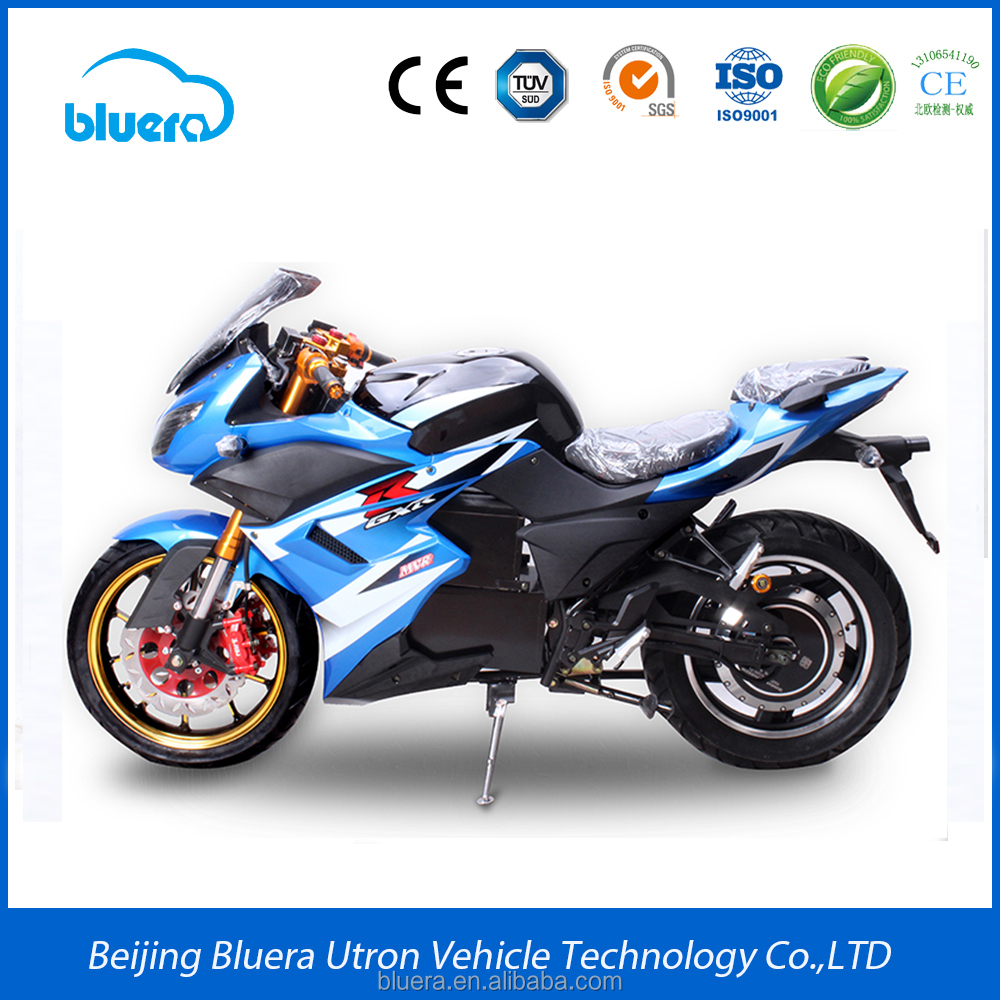 High Power 72V 2000W Racing E Motorcycle Electric Bike for Adult