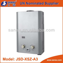 ISO 9001 Flue type gas water heater