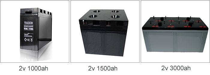 2 volt Solar Battaries 2 v 3000ah longa vida GEL bateria estacionária