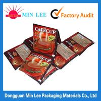 aluminum foil vacuum packing bags customized side gusset coffee bag