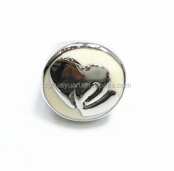 young boy ring fashion jewelry enamel with heart charms drip oil ring designs