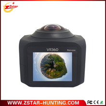 Super all view 360 degree panoramic 220 fisheye sports wifi action camera