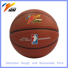 Basketball in bulk,basketball made in china,size 7 rubber bladder basketball