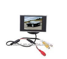 3.5 inches Digital panel 800*480 car lcd monitor in headrest
