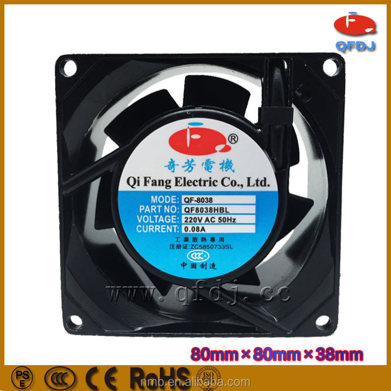 80mm 8038 air cooling fan 80*80*38mm 220v plastic external cooling fan for ps3