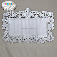 TOP MIRROR JI-006A living room furniture wall mounted venetian etched mirror