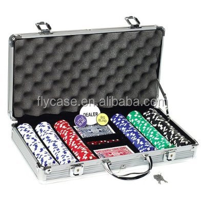 selling aluminum frame antique poker game set with potable