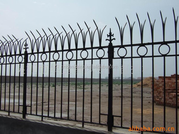 House Wrought Iron Railings Design With Iron Fence Gates
