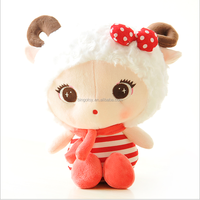 2016 top quality wholesale cute sheep plush toy super soft plush toy factory price