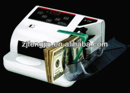 Hand-held note counting machine/money counter V30