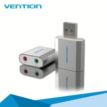 Best customized best selling Vention usb 3d sound card virtual 5.1