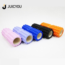Manufacture PU foam roller New design eva rainbow color Design Physical Therapy &amp Exercise Muscle Massage Foam Roller