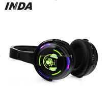 Small Fast Selling Items Cool LED flashlights Silent disco RF Wireless Stereo Party Headphone