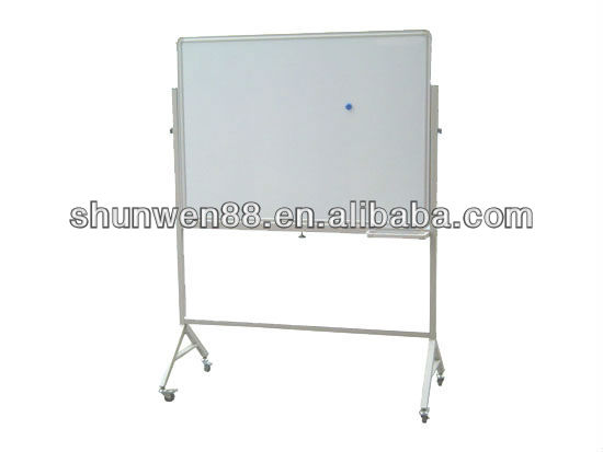 Large and durable whiteboard with roller