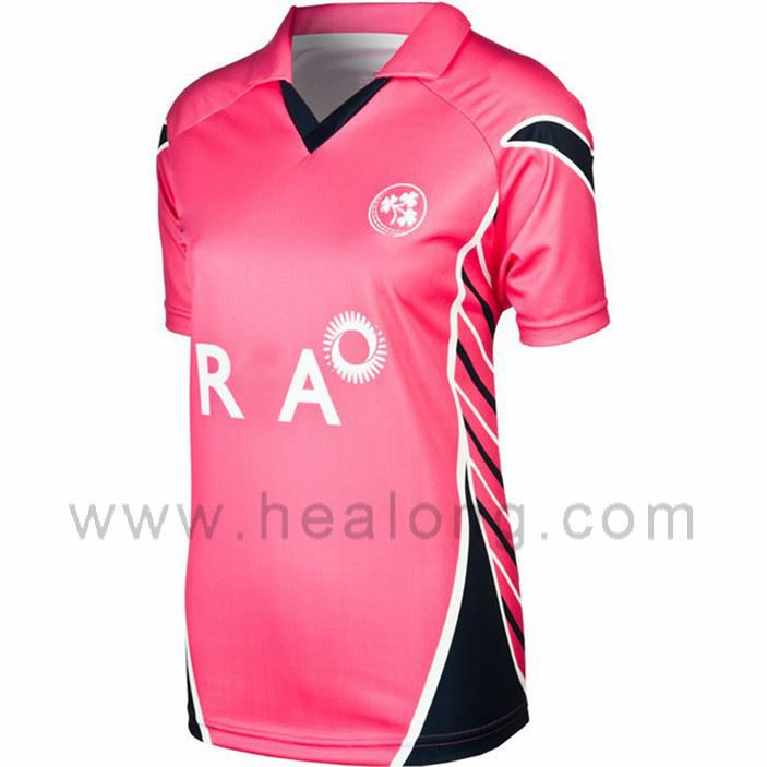 Sublimation Team Cricket Jerseys T Shirts Wholesale