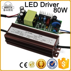 80w open frame internal constant current led driver with pfc 0.95