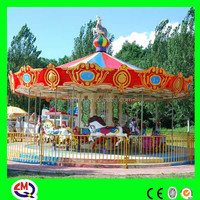 Amusement Rides Small Animal Carousel, 6 Seats Carousel for Children