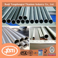 Grade 2 Gr 2 Titanium tube for bicycle frame Best price