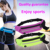 High quality waterproof marathon running sports waist belt bag