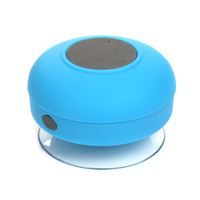 suction cup waterproof shower Bluetooth speaker