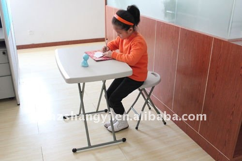 Personal Tv Tray Height Adjustable Plastic Folding Working Tables For Kids    Buy Folding Study Table For Kids,Height Adjustable Working Table,Plastic  ...
