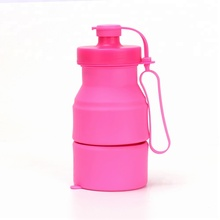 Newest Collapsible Silicon Sports Water Bottles China Manufacturer Free <strong>Sample</strong>