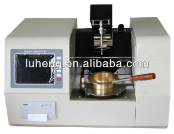 Fully-automatic Cleveland Open Cup Flash & Fire Point Tester for Petroleum Products