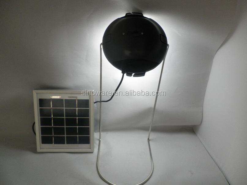 Portable Solar Emergency Lantern with mobile phone chargers for Home Lighting For Africa