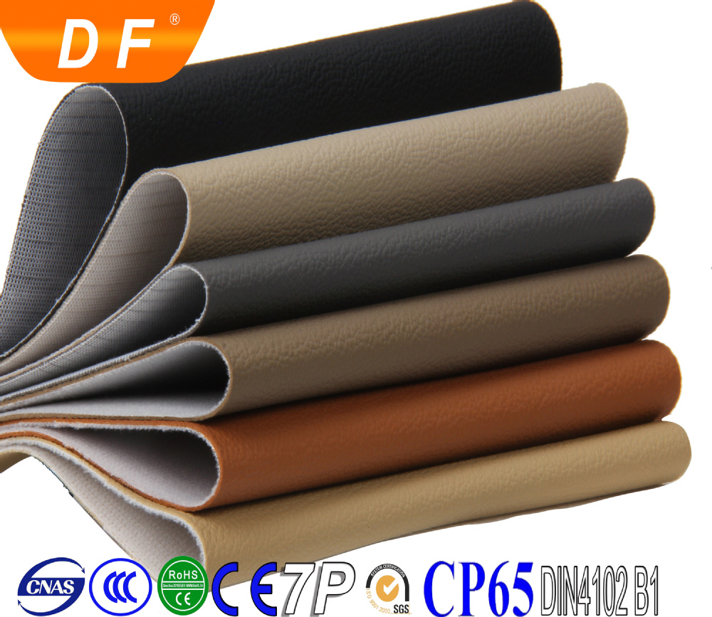 PVC artificial synthetic car seat covers leather for car