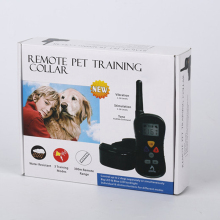 Customized remote dog training collars