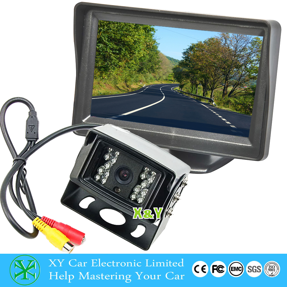 waterproof bus/truck rear view camera ,Reverse parking camera with parking line optional,480~700tvl XY-03