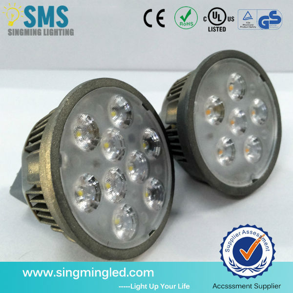 2014 new design led spotlight mr16 dimmable , gu10 mr11 led 5w