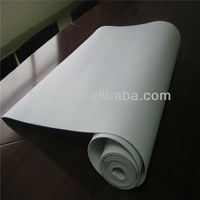 Waterproof needle punched polyethylene and polypropylene roofing felt