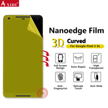 Nanoedge For Google Pixel 2 XL High Clear Screen Guards 3D easy Install Films