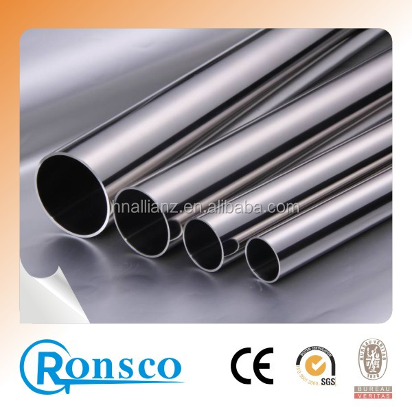 316 Astm A554 Stainless Steel Empaistic Pipe,Tubo In Acciaio Inox 15.9x0.9mm