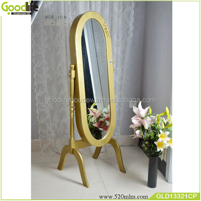 Oval mirror cabinet jewellery chests 500pcs wholesale