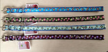 Pet collar Dog collars pet Belt Flower printed Training collar WHPP060992