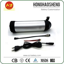 HHS 36v bottle model Electric bikes Aluminum Casing battery for Electric bicycle