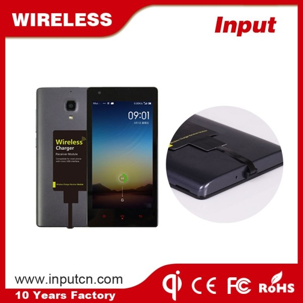 High quality mobile phone accessories qi wireless adapter for smart phones