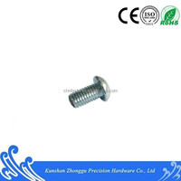 ISO7380 Hex socket pan head screw carbon steel10.9grade white zinc plating