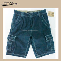 used for sale summer readymade casual rough biker denim mens running jeans short pants