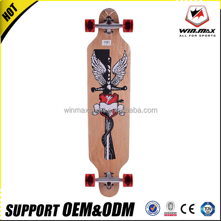 High quality wholesale 70*51mm 85A PU wheels longboard skateboard trucks for Junior/adult