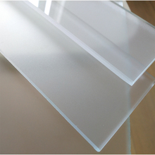 China Factory Price 4mm 5mm 6mm 8mm 10mm 12mm White Acid Etched Sandblasted Frosted Glass for Privacy